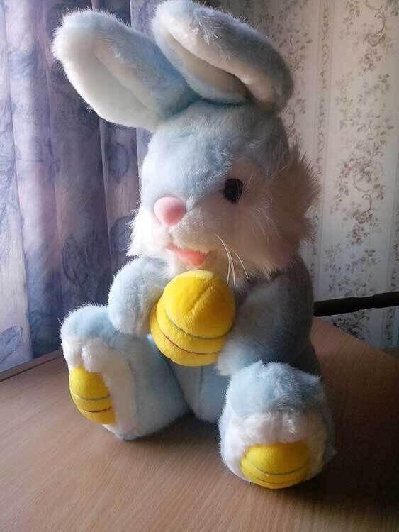 Заяц / игрушка мягкая