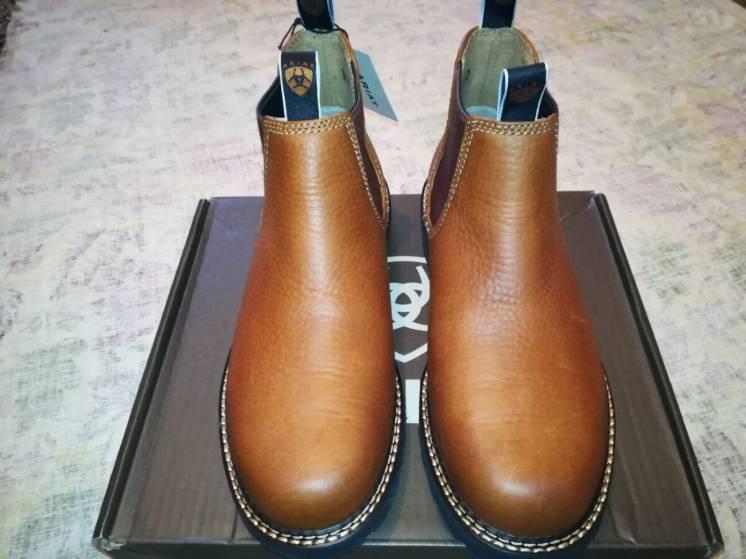 Мужские ботинки Ariat Spot Hog США, оригинал сапоги.