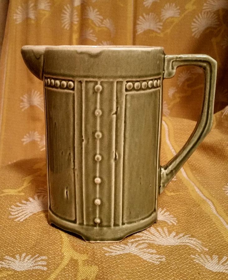 90 лет Редчайший кувшин чайник молочник Каменные Броды фаянс керамика