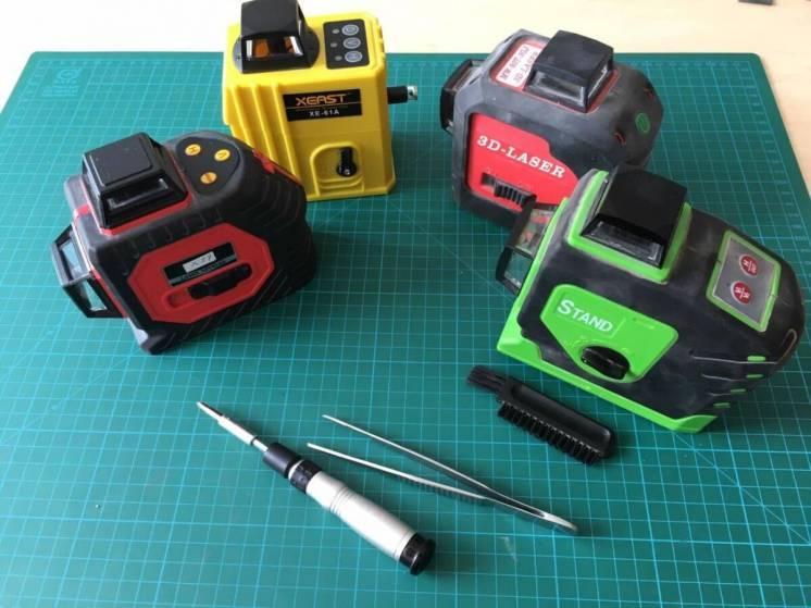 3 D китайские лазеры, настройка, ремонт и обслуживание всех моделей.