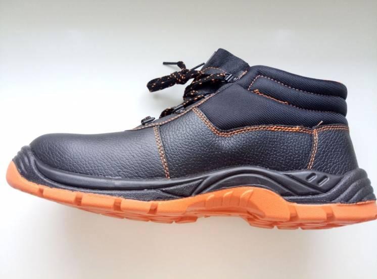 Ботинки рабочие кожаные с металлическим носком Urgent SB SRC