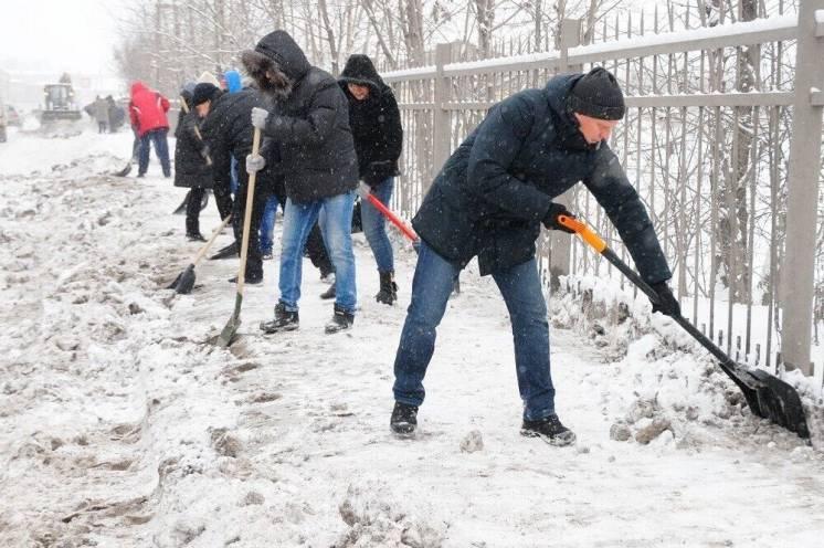 Качественная уборка снега киев