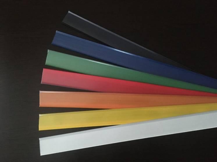 Ценникодержатель полочный цветной