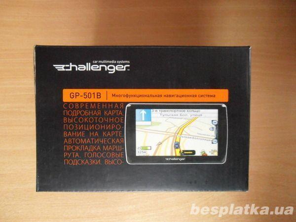 Gps  навигатор Challenger Gp-501b