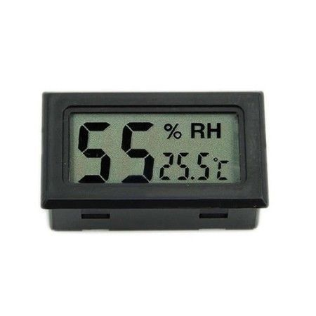 Цифровой термометр жк измеритель температуры и влажности