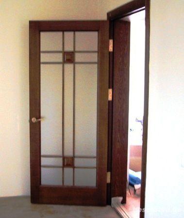 Двери и лестницы из экологически чистой натуральной древесины.