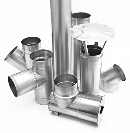 Изготовление дымоходных систем, дымоходы
