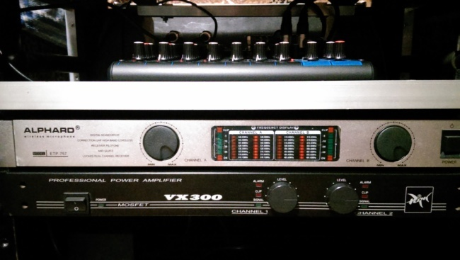 Усилитель мощности Park Audio VX300