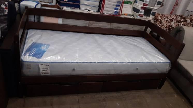 Детская деревянная кровать Марио с ящиками 80х190