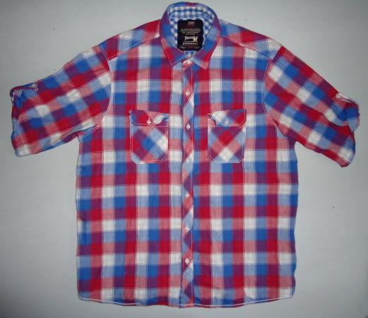 Рубашка F&F premium в клетку (XL)