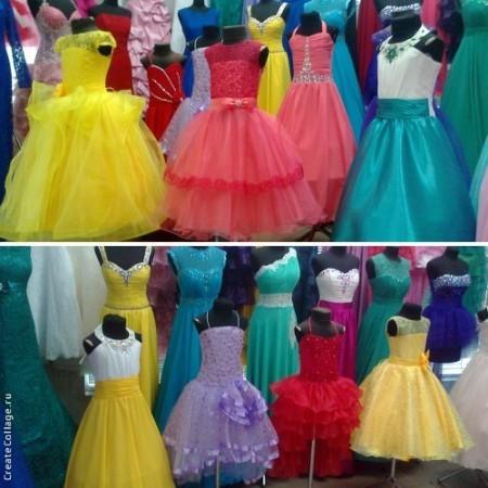 шикарные бальные платья для девочек