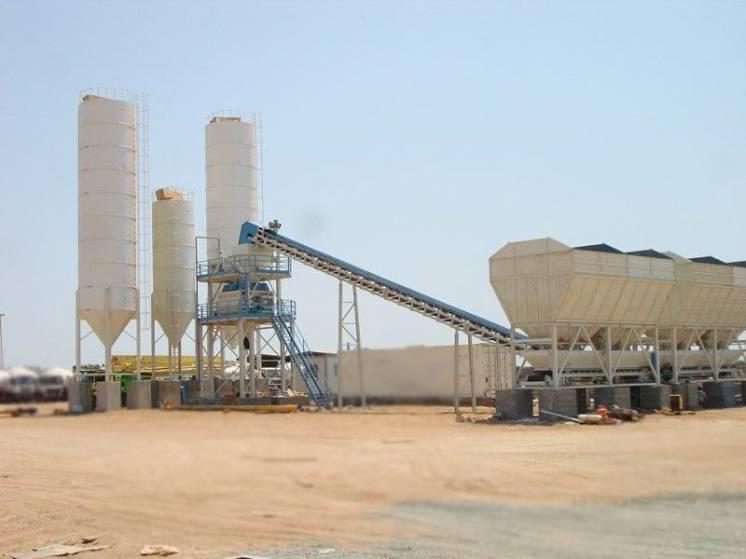 Стационарные бетонные заводы SUMAB