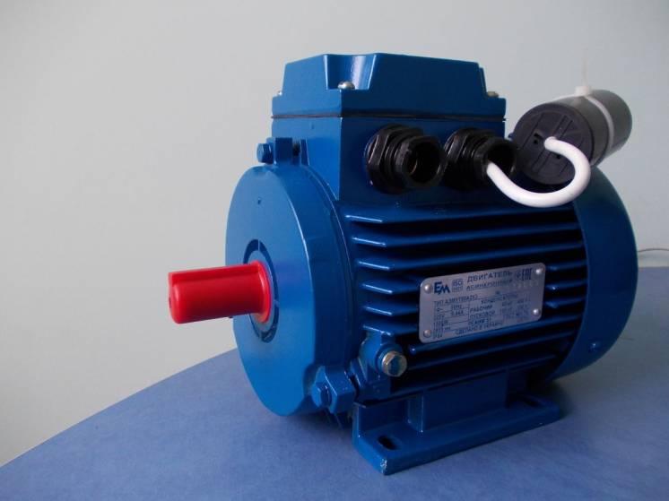 Электродвигатель однофазный 1.5 квт 3000 об/мин 220в аэмут80а2 украина