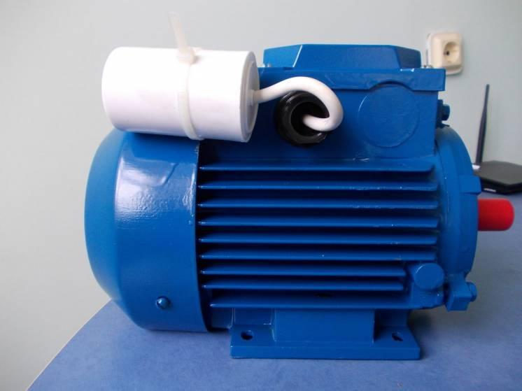 Электродвигатель 1,1 квт 3000 об/мин однофазный 220в АИРУТ71b2 украина