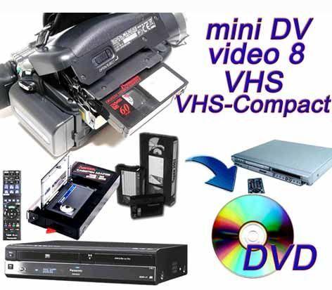 Оцифровка видеокассет (от 60грн/1час) и аудиокассет.