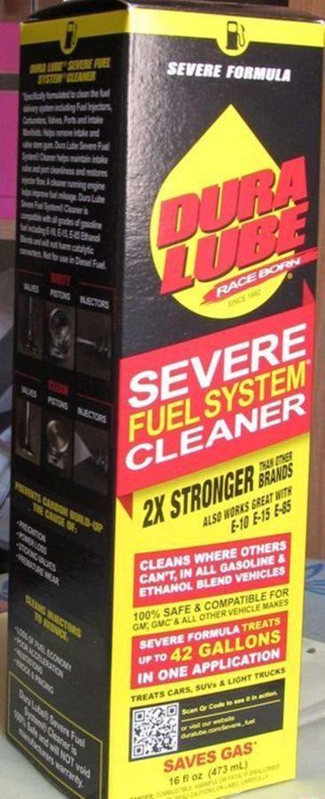 Dura Lube Severe Fuel System Cleaner (очиститель топливной системы).