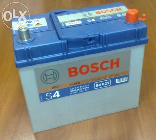 Аккумуляторы BOSCH 45а/ч Азия