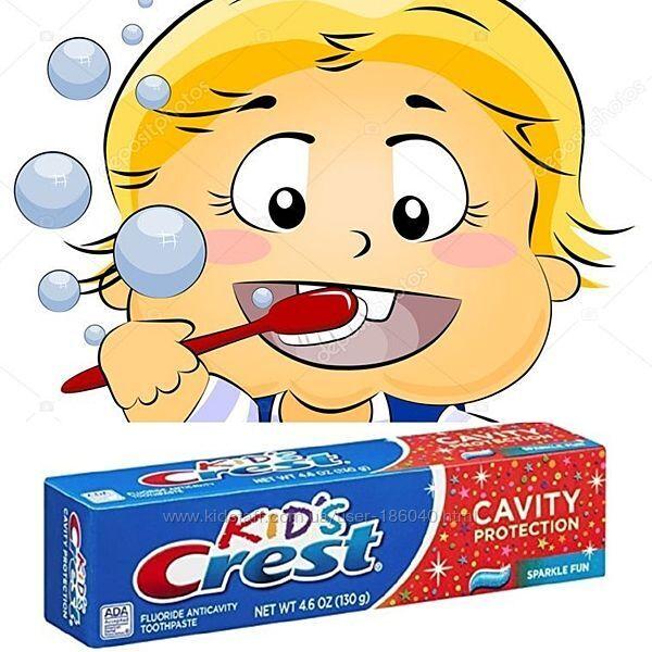 Детская зубная паста Crest Kids Sparkle Fun-130грамм-оригинал USA