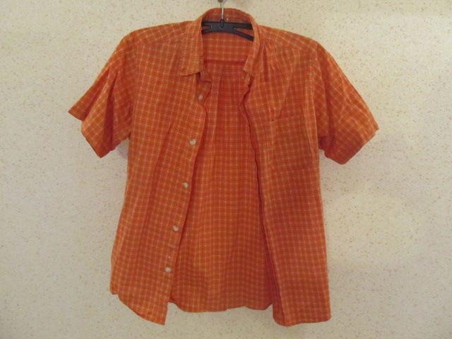 Стильная летняя рубашка на мальчика на рост 140-150 см