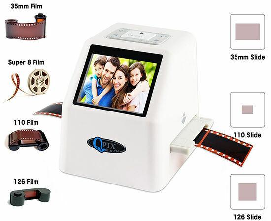 Слайд сканер фотопленки Qpix(35мм, негативы) новый
