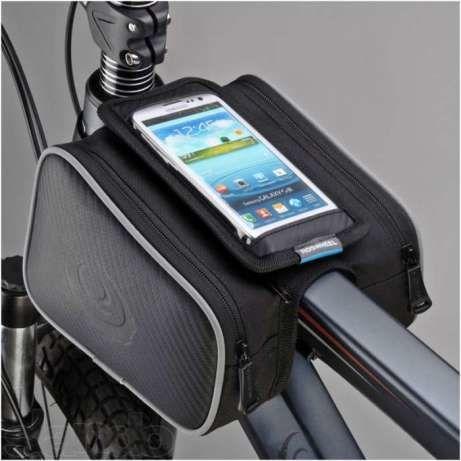 Сумка для велосипеда ( велосумка )на раму с карманом для телефона