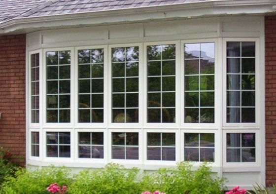 Окна ПВХ со шпросами. Окна с узорами. Перегородки на стеклопакет.