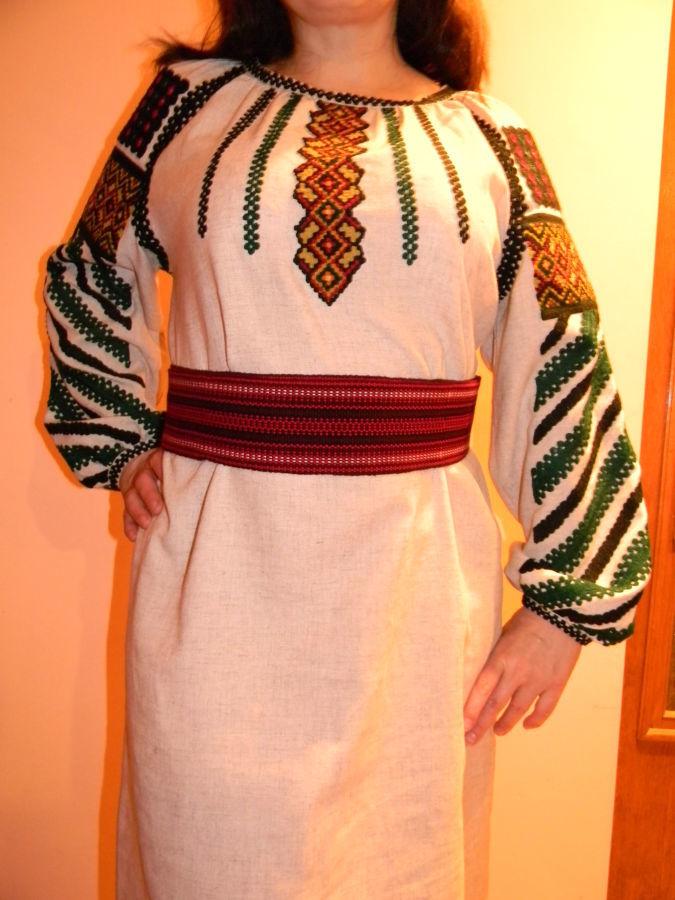Плаття Борщівська вишиванка