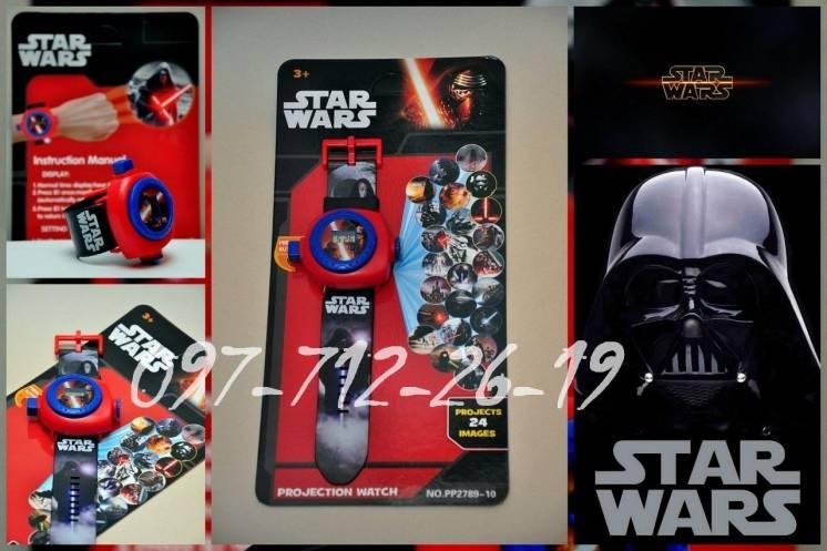 """""""STAR WARS"""" наручные Часы - Проектор """"Звездные войны"""". 24 изображения!"""