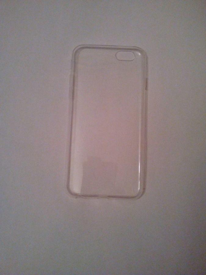 Чехол iPhone 6 / 6s силиконовый прозрачный