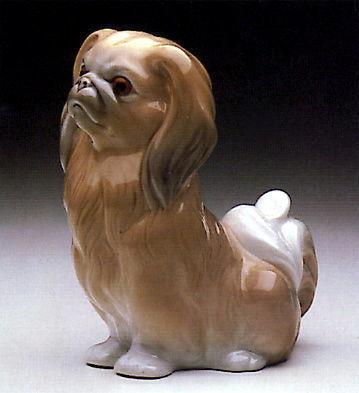 LLADRO Пекинес Собака Фигурка Испанский фарфор