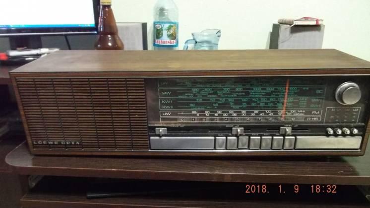 Radio Loewe Opta, Radio & Receiver.Из Германии
