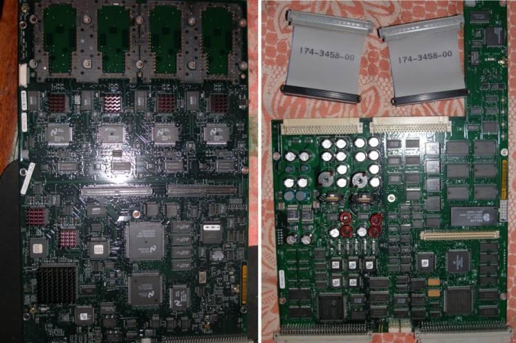 Плата acq. на з/ч осциллографа Tektronix TDS 684