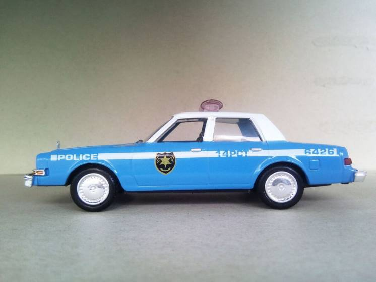 Dodge Diplomat 1983 New York Police машина фільму Звичайні підозрювані