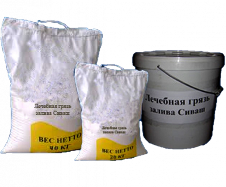 Лечебная грязь иловая сульфидная залива Сиваш 20 кг.