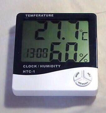 Новый Термометр HTC-1, цифровой термометр-гигрометр