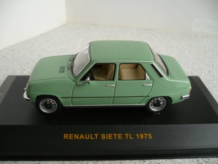 Renault 7 Siete - Модель 1/43 IXO Models