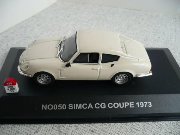 Simca CG купе - Модель 1/43 Nostalgie/IXO