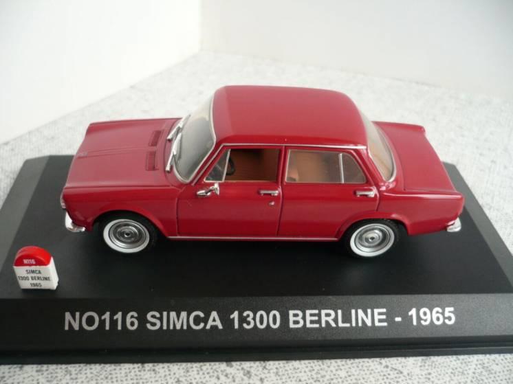 Simca 1300 - Модель 1/43 Nostalgie/Universal Hobbies