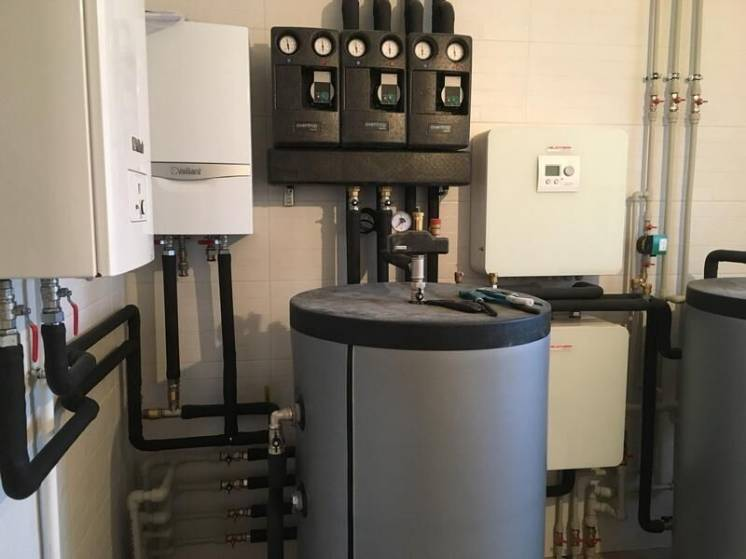 Автономное отопление квартиры и дома в Херсоне. Установка котлов в Хер
