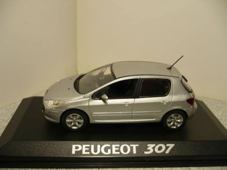 Peugeot 307 (5-ти дверн.) - Модель 1/43 Norev