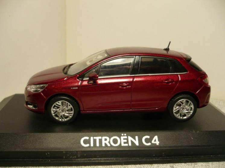 Citroen C4 - Модель 1/43 Norev
