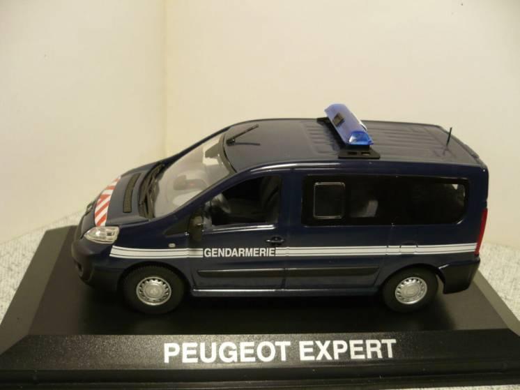 Peugeot Expert жандармерия - Модель 1/43 Norev