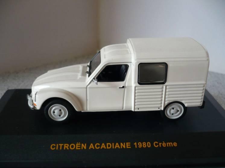 Citroen Acadiane - Модель 1/43 IXO