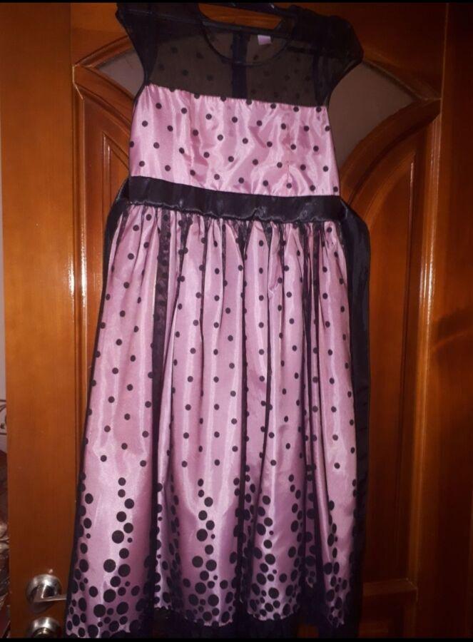 Шикарное платье 146 рост