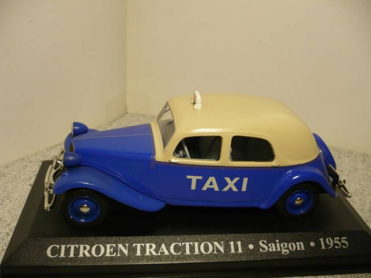 Citroen 11 Traction такси - Модель 1/43 Altaya
