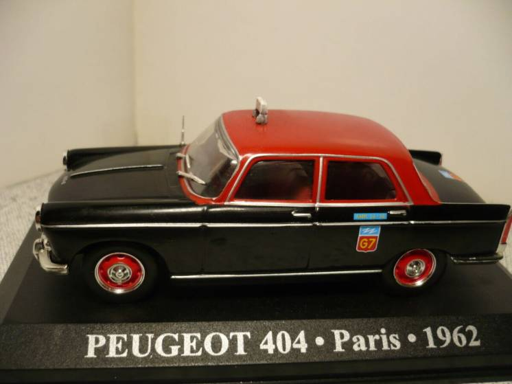 Peugeot 404 такси - Модель 1/43 Altaya