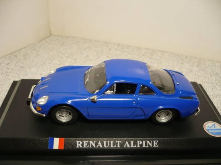 Renault Alpine - Модель 1/43 Del Prado