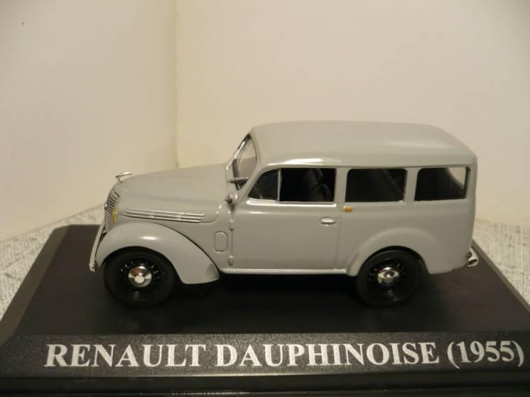 Renault Juvaquatre Dauphinoise - Модель 1/43 Altaya