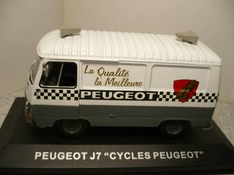 "Peugeot J7 ""Cycles Peugeot"" - Модель 1/43 Altaya"