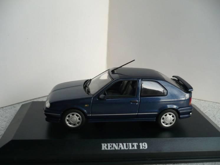 Renault 19 (3-х дверн.) - Модель 1/43 Norev